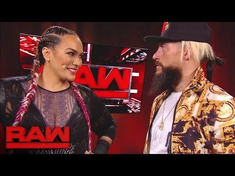 Xxx Mp4 Nia Jax Has A Surprising Encounter With Enzo Amore Raw Dec 4 2017 3gp Sex