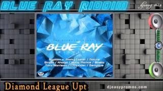 Blue Ray Riddim Mix  ||MAY 2016||  (DIAMOND LEAGUE UPT RECORDS) @djeasy
