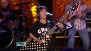 Nine-year-old Guitar Player