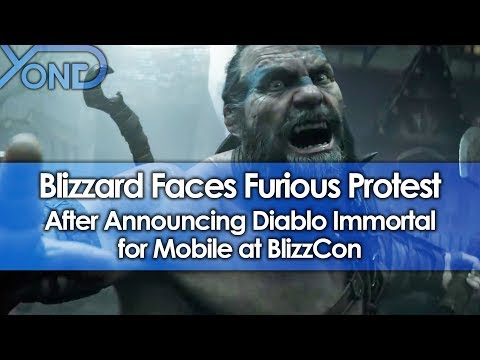 Xxx Mp4 Blizzard Faces Furious Protest After Announcing Diablo Immortal For Mobile At BlizzCon 3gp Sex
