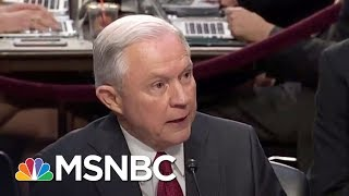 Lawrence: The Answer That Could Be Jeff Sessions' Downfall | The Last Word | MSNBC