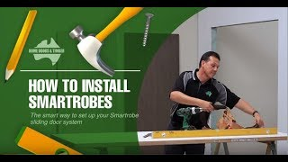 How to install Smartrobes sliding doors