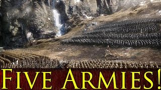 The Hobbit: The Battle of the Five Armies: Battle (Third Age Total War)