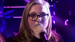 13-Year Old Luana Sings The Weeknd's Can't Feel My Face - Wow