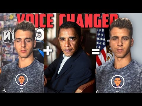 Voice Changer App Can Turn You Into Anyone