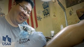 Chino Rican - Ep. 9 | Service & Ink | USAA