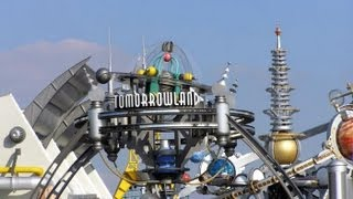 Walt Disney World Magic Kingdom Tomorrowland 2012 HD