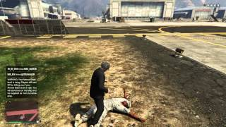 GTAV - Kill by ball stomp.