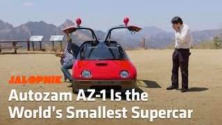 The Autozam AZ-1 Is The World's Smallest Supercar