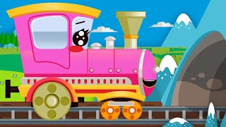 Learn colors with the color train for kids babies!