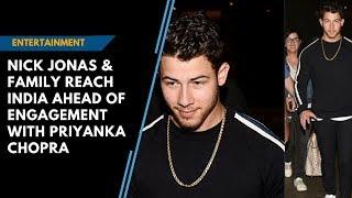 Priyanka Chopra-Nick Jonas engagement: Jonas family reaches Mumbai