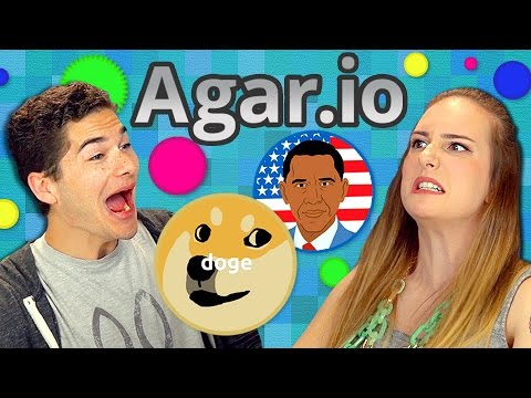 AGAR.IO Teens React Gaming