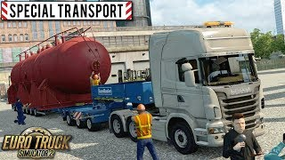 Zlecenie ''Special Transport'' - Euro Truck Simulator 2 | (#2)
