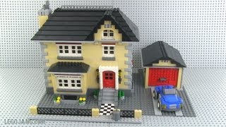 LEGO Creator 4954 Model Town House mini-review