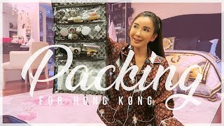 HOW I PACK FOR MY TRIP TO HONG KONG | JAMIE CHUA
