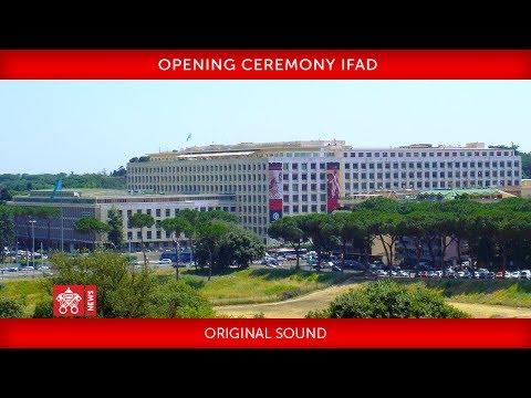 Xxx Mp4 Pope Francis Opening Ceremony IFAD 2019 02 14 3gp Sex