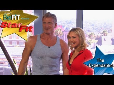 The Expendables Workout with Dolph Lundgren Star Fit