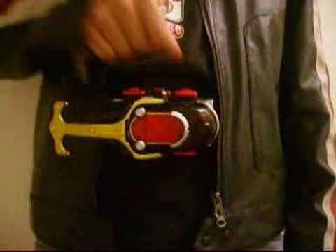 Kamen Rider Kabuto DX Dark Kabuto Zecter Review