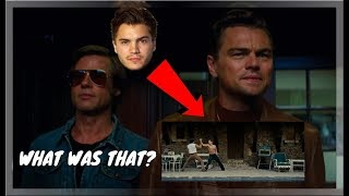 ONCE UPON A TIME IN HOLLYWOOD TEASER - TOP 3 Things You Missed!