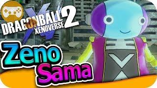 ZENO SAMA EL DIOS DE TODO | DRAGON BALL XENOVERSE 2 MODS EpsilonGamex