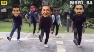 عمر خريبين وسلمان الفرج وادواردو ودياز