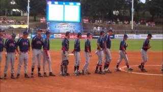 USA Jr Men Fastpitch Team vs India Highlights