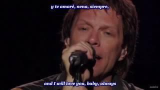 Bon Jovi - Always (inglés - español)