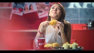 KFC Hot and Cheesy Chicken!