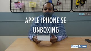 Apple iPhone SE India Unboxing