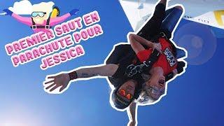 #SKYDIVEDUBAÏ - Premier saut en parachute pour Jessica