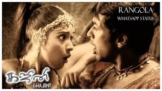 Rangola - Whatsapp Status | Ghajini Tamil Movie | Harris Jayaraj | 1