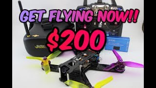 Get FPV DRONE RACING for ONLY $200!! Full Guide 2017 + GIVE AWAY