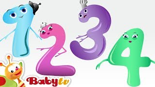 Counting Song - Meet the Numbers 1 to 10 with Charlie & the Numbers   BabyTV
