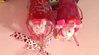 Valentines Day Gift Bucket