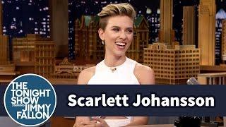 Scarlett Johansson Gave Jimmy a Kinky Food Recommendation