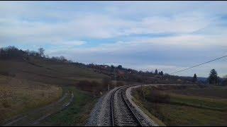Bjelovar-Kloštar Cab Ride//Vožnja vlakom do Kloštra