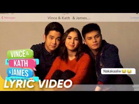'O Pag-ibig' by Ylona Garcia & Bailey May Lyric Video | 'Vince & Kath & James'