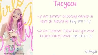 Girls Generation (SNSD) - Party Color Coded Lyrics [Rom/Eng] _1080hd