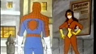 Spiderman Spiderwoman cartoon
