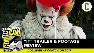 It Trailer And Footage Review - SDCC 2017