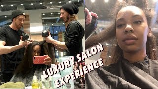My Salon Experience! First time getting my Natural Hair done at a salon in 13 years!