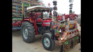 beautiful tractor in pakistan massey ferguson 260 decoration 2