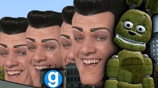 ROBBIE ROTTEN WE ARE NUMBER ONE AND FNAF FUNNY MOMENTS   Five Nights at Freddy's Gmod (Sandbox)