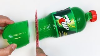 How to Make 7 Up GUMMY BOTTLE DIY Fun & Easy Jello Soda Bottle Dessert Shape!