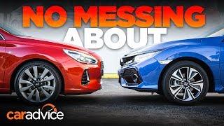 Honda Civic v Hyundai i30 comparison   CarAdvice
