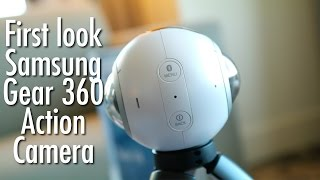 Samsung Gear 360 first look: 360 degree action camera | Pocketnow