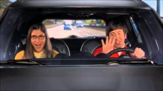 Amy and Howard sing Neil Diamond - The Big Bang Theory
