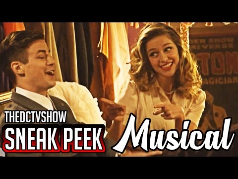 The Flash 3x17 Supergirl Musical Crossover Sneak Peek 2 Duet Season 3 Episode 17 Preview