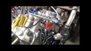 1270 Horsepower 438 SB Ford Nitrous Engine by CNC-Motorsports