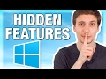 Top 10 Hidden Windows Features (You
